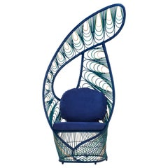 Peacock Easy Armchair by Kenneth Cobonpue