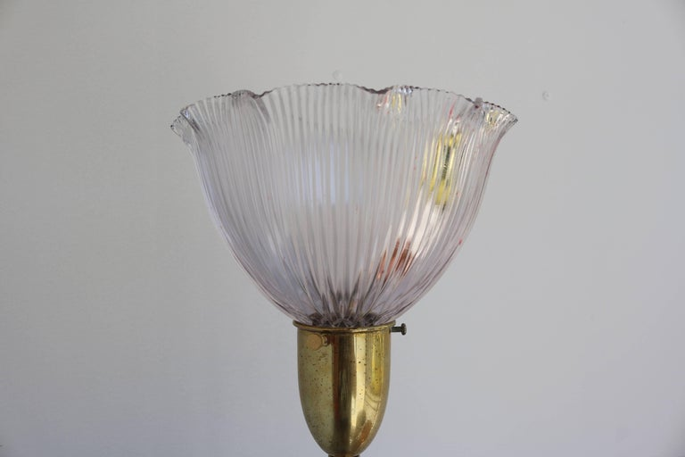American Peacock Lamp by the Rembrandt Company For Sale