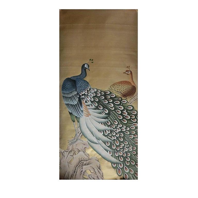 Peacocks Wallpaper For Sale