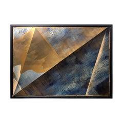 """Peak"" Mixed Media Painting by Jeffrey Francis Beardsall"