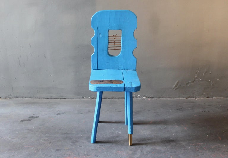 Late 19th Century Peak of a Century Chair by German Artist Markus Friedrich Staab For Sale