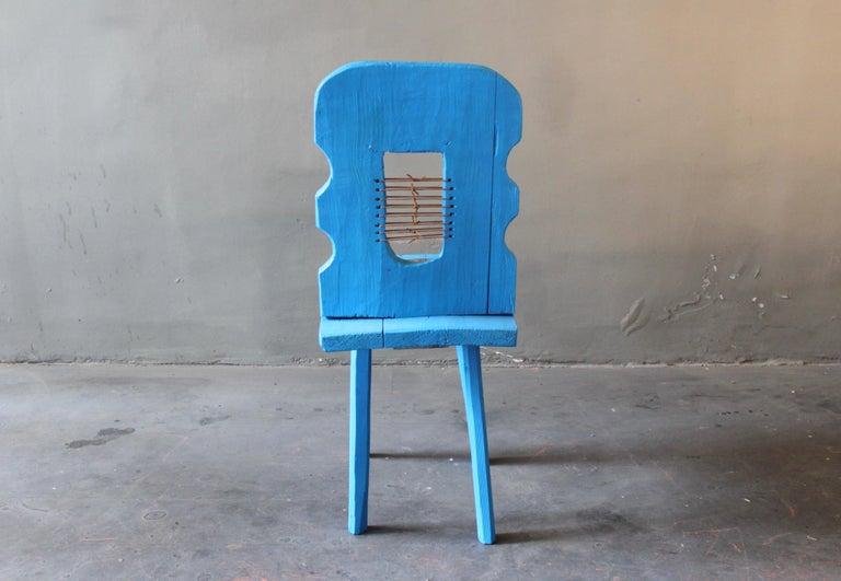 Copper Peak of a Century Chair by German Artist Markus Friedrich Staab For Sale