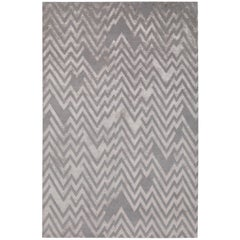 Peaks Hand-Knotted 10x8 Rug in Wool and Silk by Paul Smith