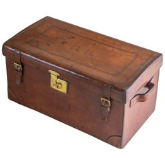 Peal and Co. Leather Boot Trunk, circa 1900