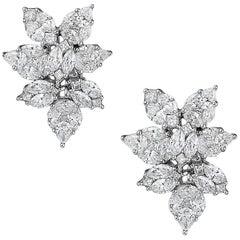 Pear Shape Earrings 3.50 Carat