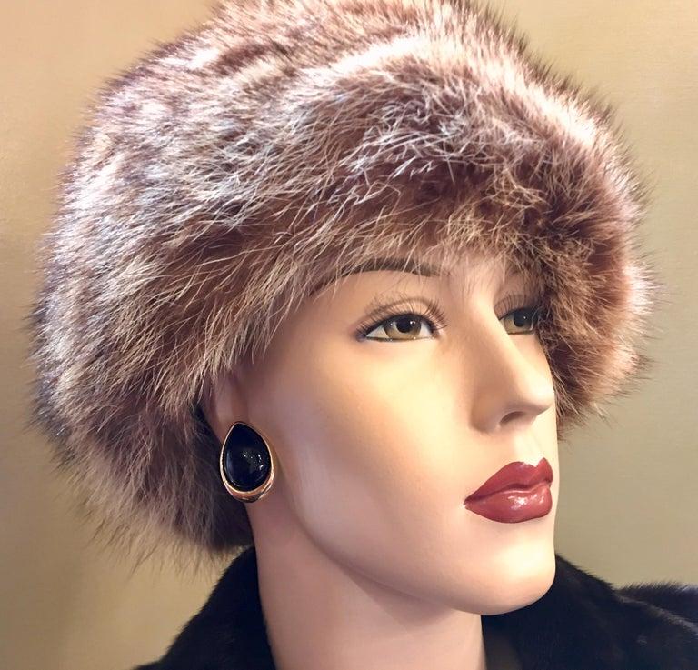 Pear Shaped Black Onyx 14 Karat Yellow Gold Earrings Peter Brams Designs For Sale 2