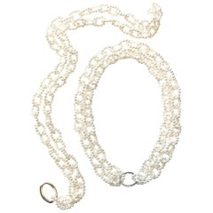 """Pearl """"Chain"""" Necklace"""