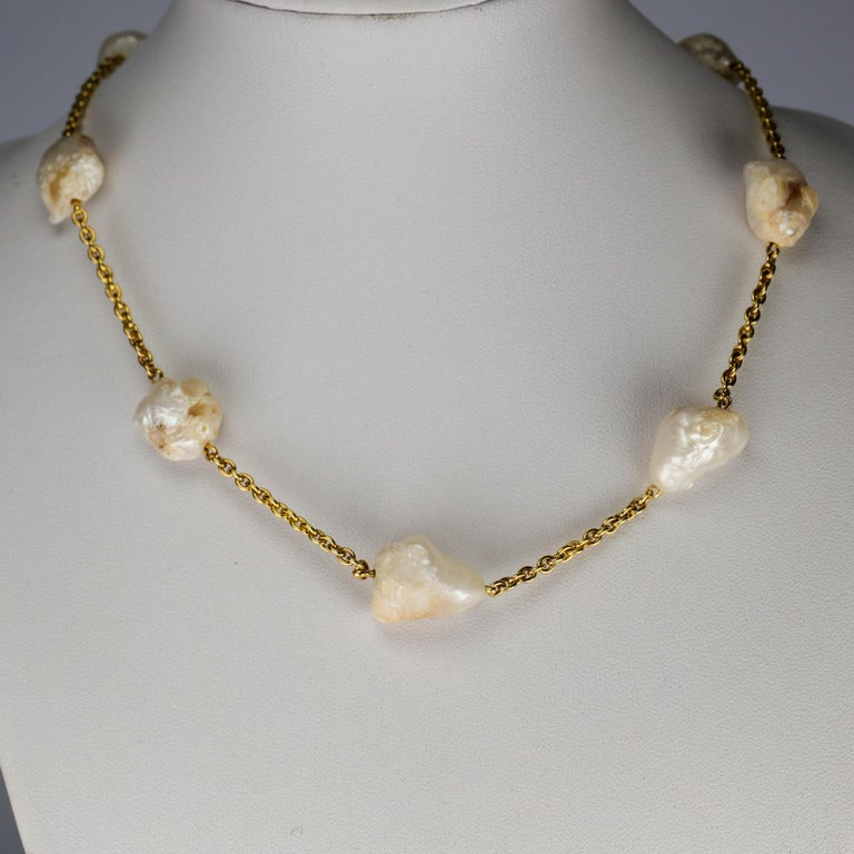 Before diamonds came along and stole the spotlight, it was pearls that the monarchs of Europe and the Middle East valued above all else. Look at old portraits of royalty; look at Elizabeth I. No wonder: pearls are genuinely rare. And American river