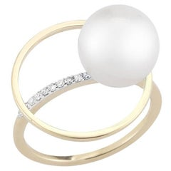Pearl Orbit Ring