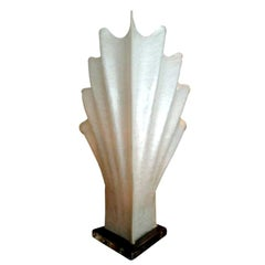 Pearlescent Acrylic Shell Lamp