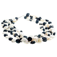 Pearls and More Pearls Multi-Strand Necklace