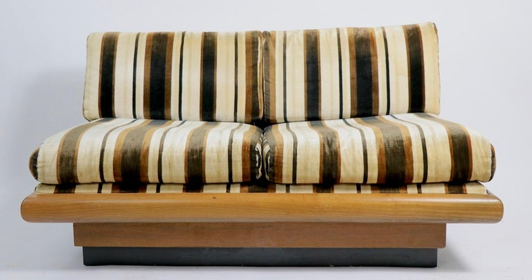 American Pearsall Loveseat Sofa Bench For Sale