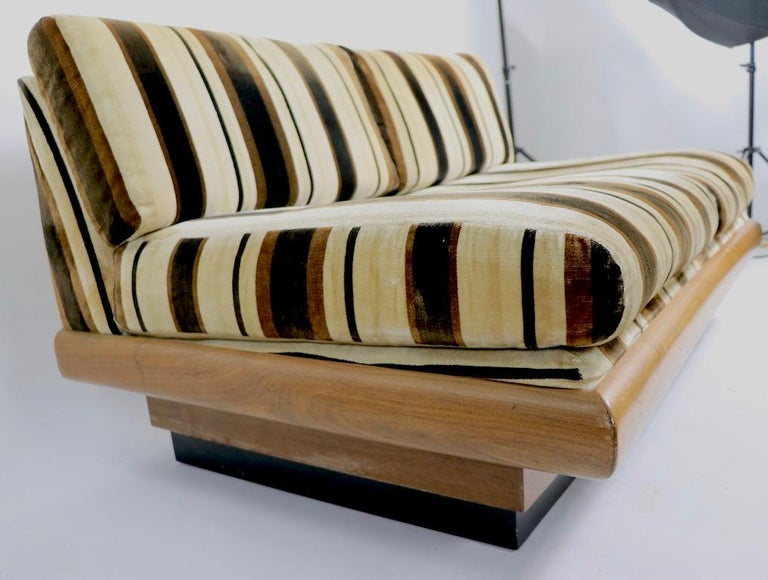20th Century Pearsall Loveseat Sofa Bench For Sale