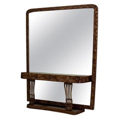 Pearwood Vanity Table with a Mirror, circa 1900