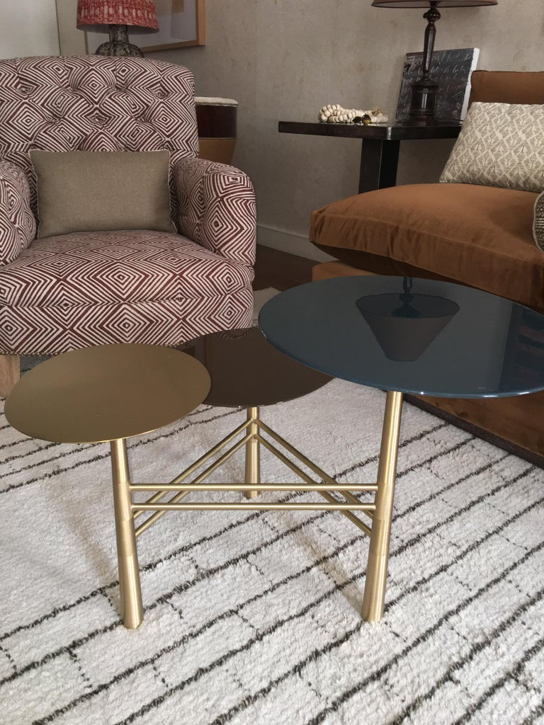 Pebble Side Table by Nada Debs For Sale 1
