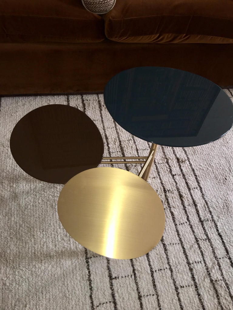 Pebble Side Table by Nada Debs For Sale 2