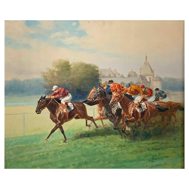 "Pechaubes Eugène ""Horse Races"""