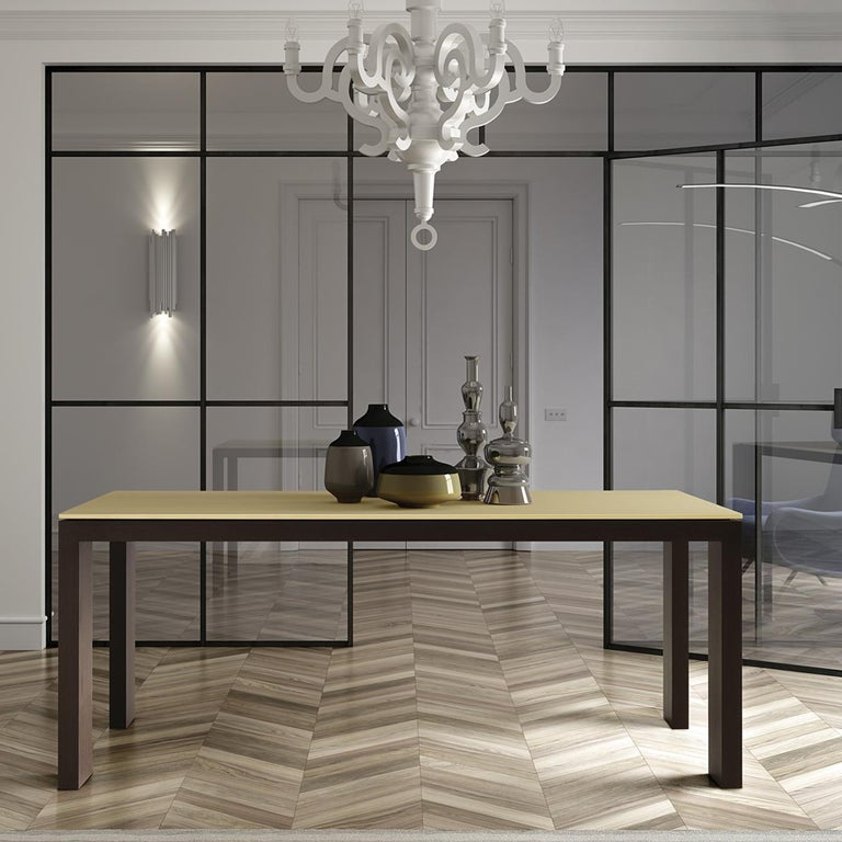 Modern Pedaso Wood Dining Table For Sale
