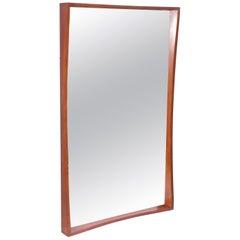 Pedersen & Hansen Teak Wall Mirror