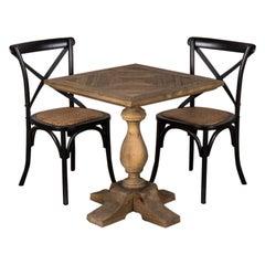 Pedestal Base Cafe Table, 20th Century