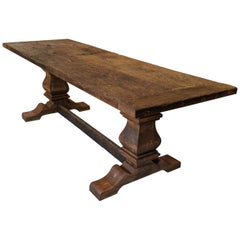 Pedestal Dining, Library or Center Hall Table
