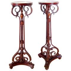 Pedestal J & J Kohn, Model Nr. 10, circa 1900