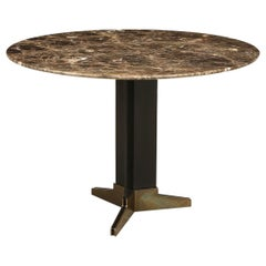 Pedestal Side Table Attributed to Azucena