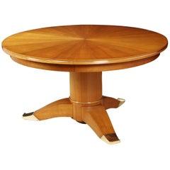 Pedestal Table by Jules Leleu