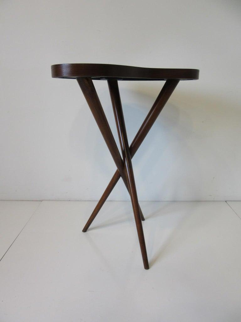 20th Century Pedestal Table in the Style of T.H. Robsjohn Gibbings  For Sale