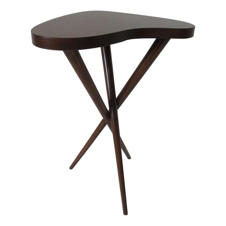 Pedestal Table in the Style of T.H. Robsjohn Gibbings  For Sale