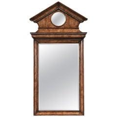 Pediment Top Mirror