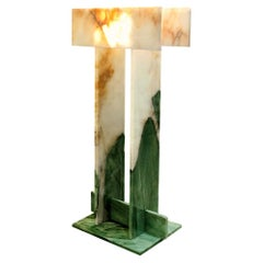 Pedrita Floor Lamp, Brazilian Contemporary Design in Brazilian Quartzite