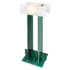 Pedrita Floor Lamp, Brazilian Contemporary Design in Brazilian Stones