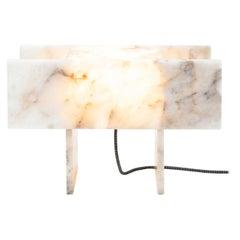 Pedrita Table Lamp, Brazilian Contemporary Design in Brazilian Quartz, Model M