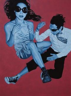 Paper 03, Pedro Bonnin, Oil on Paper, Photorealism Figurative Pop Art