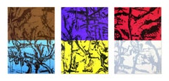 Untitled, Suite of 3 Silkscreens, Abstract Art, 21st Century, Contemporary Art