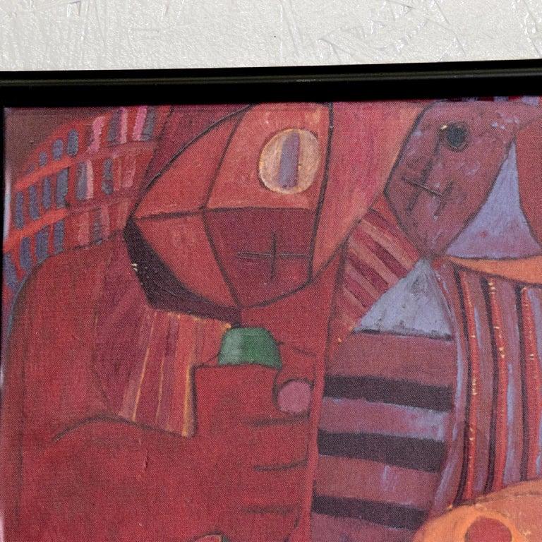 Pedro Coronel Mix Media Lithograph Mexican Modernist 4