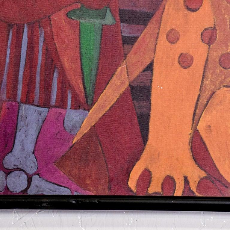 Pedro Coronel Mix Media Lithograph Mexican Modernist 5