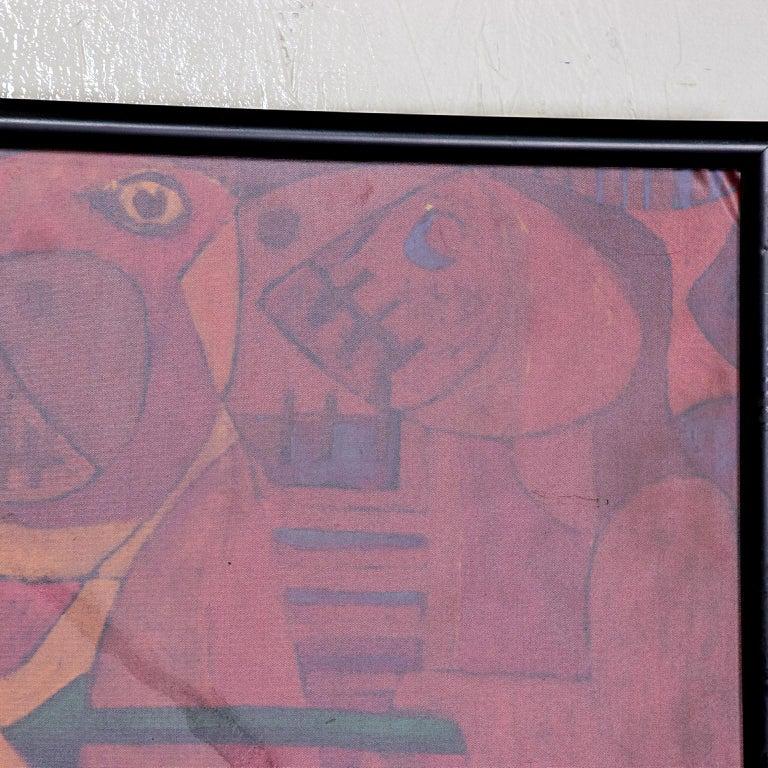 Pedro Coronel Mix Media Lithograph Mexican Modernist 3
