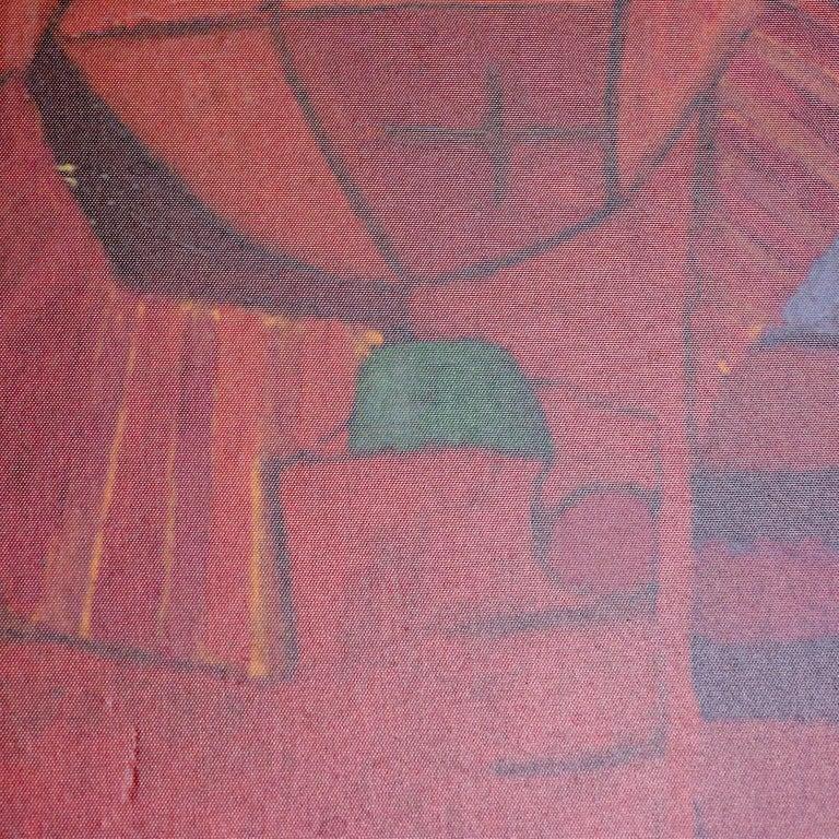 Pedro Coronel Mix Media Lithograph Mexican Modernist 1