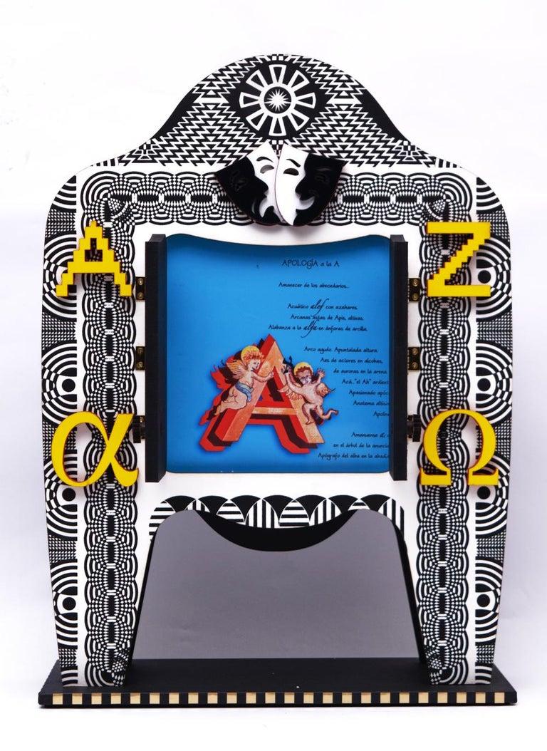 Mexican Pedro Friedeberg / Alfabetrino / Surreal / Artist For Sale