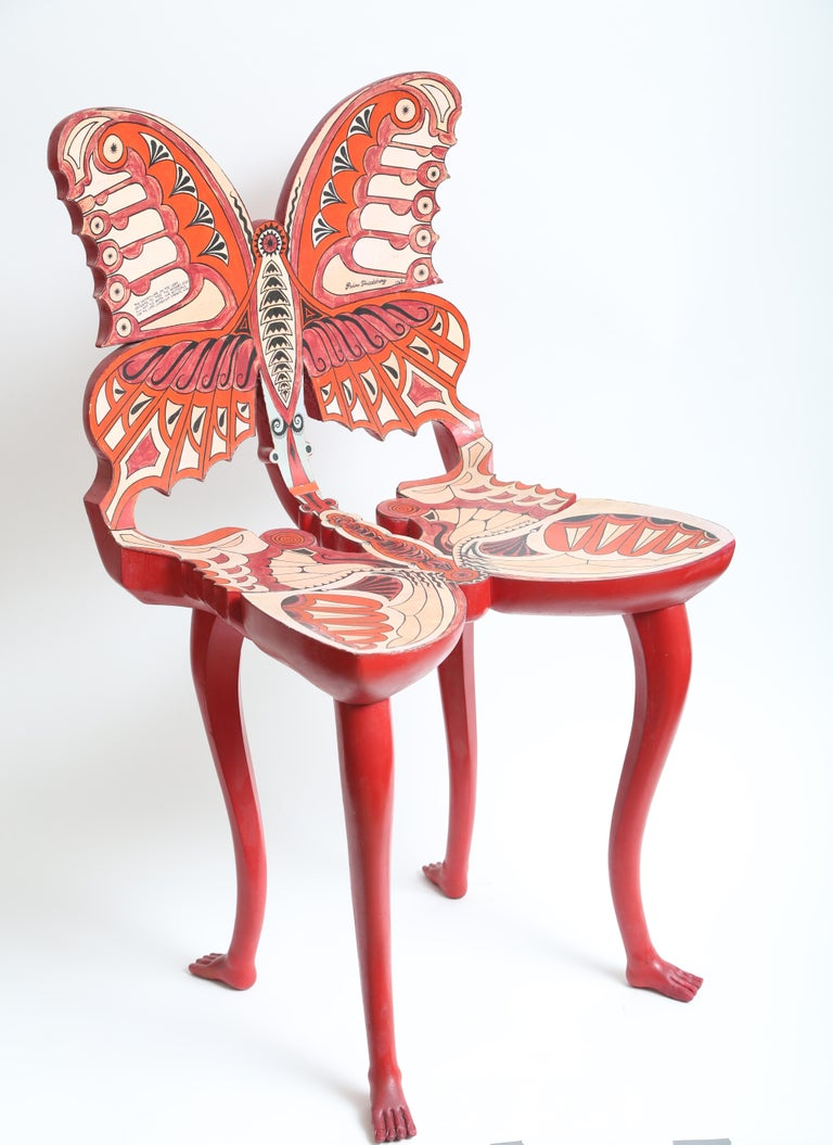 Mexican Pedro Friedeberg Butterfly Chair For Sale