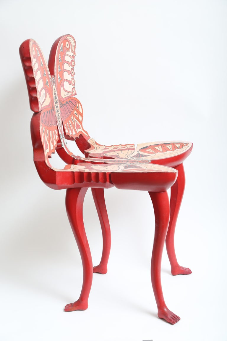 Mid-20th Century Pedro Friedeberg Butterfly Chair For Sale
