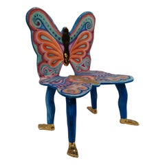Pedro Friedeberg Butterfly Chair Sculpture