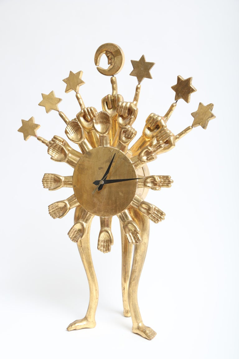 Mexican Pedro Friedeberg Clock For Sale