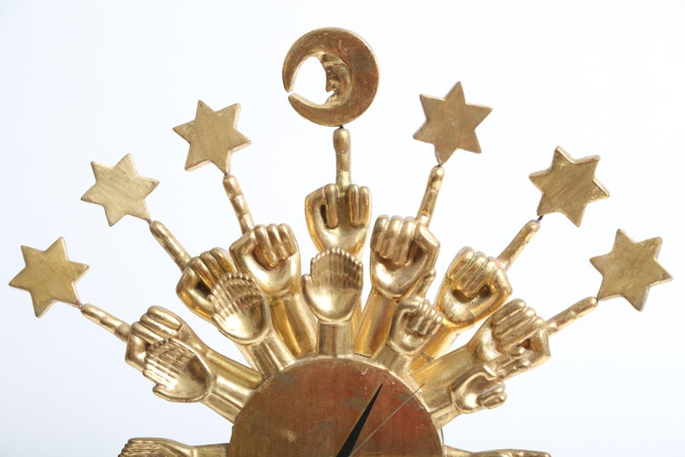 Pedro Friedeberg Clock In Good Condition For Sale In West Palm Beach, FL