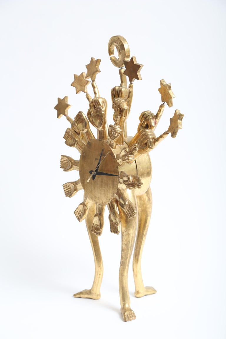 Pedro Friedeberg Clock For Sale 1