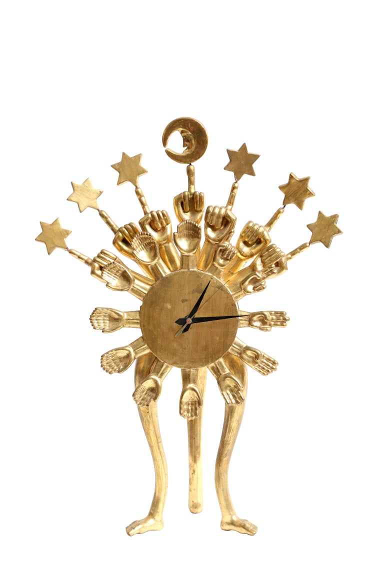 Pedro Friedeberg Clock For Sale 2