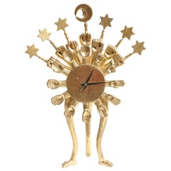 Pedro Friedeberg Clock
