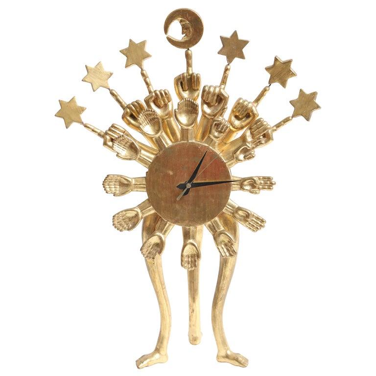 Pedro Friedeberg Clock For Sale